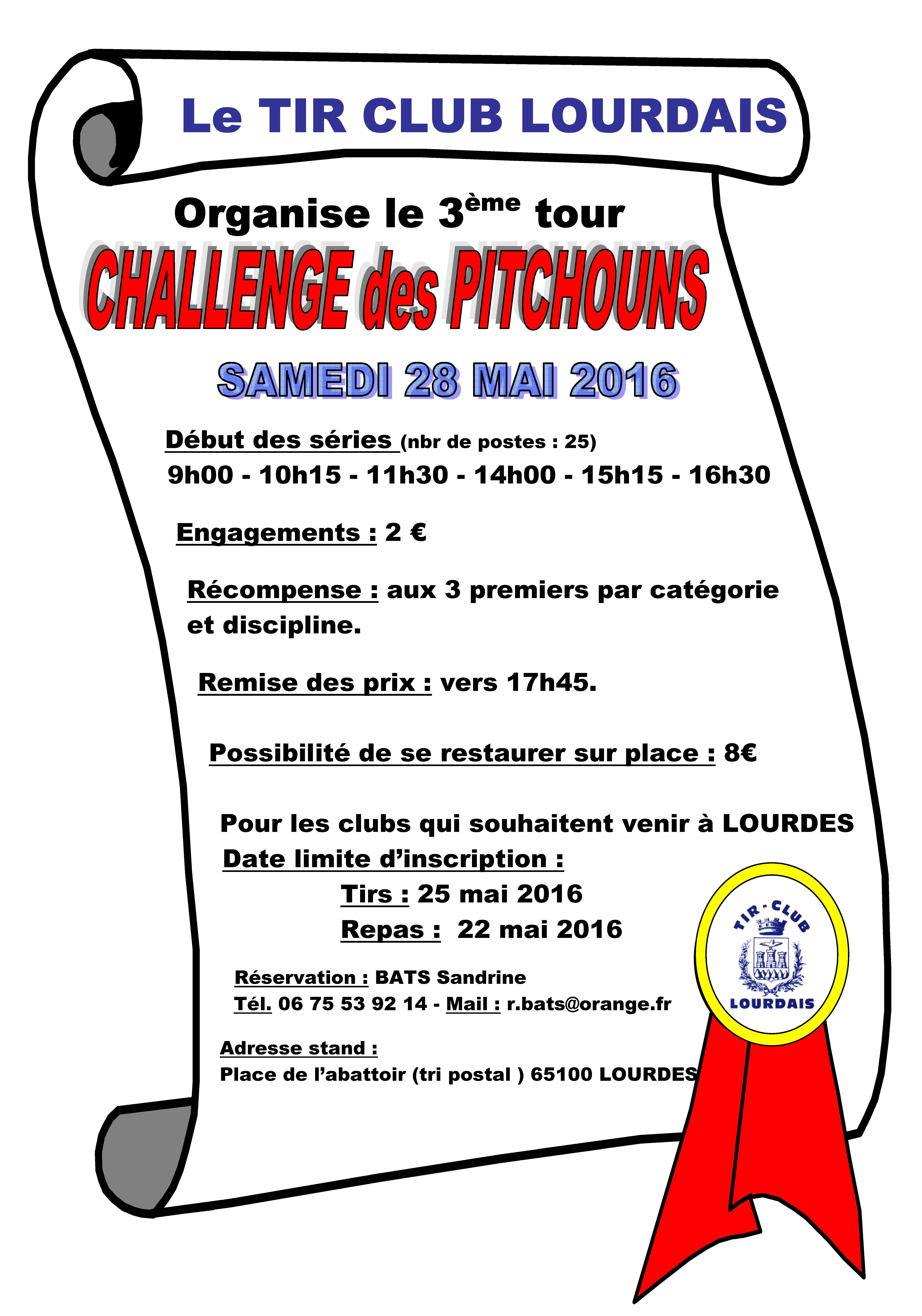 InvitationchallengepitchounsLourdes2016